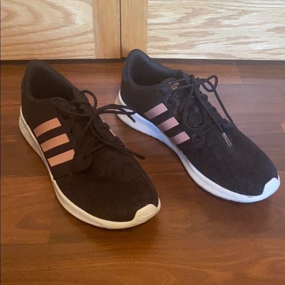 adidas tennis shoes rose gold